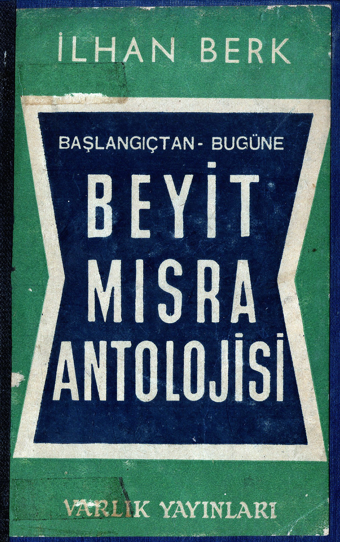 Ilhan Berk antoloji