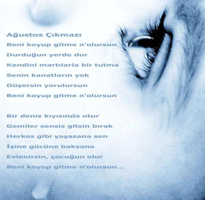 Ağustos çikmazi Attilâ Ilhan Simge şiir Edebiyat